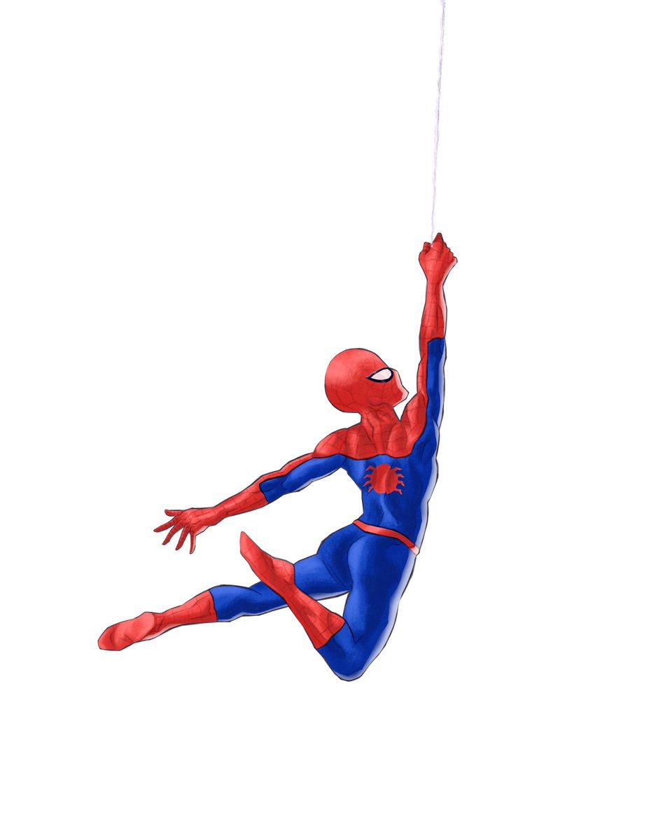 Your friendly neighborhood: Spider-man. #SpiderMan #digitaldrawing   Also, swinging a little late for #SpiderManDay... https://t.co/Zn4As7V53G