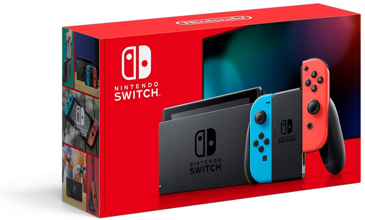 Neon Nintendo Switch back up on Amazon: 2 $299 won't last long!