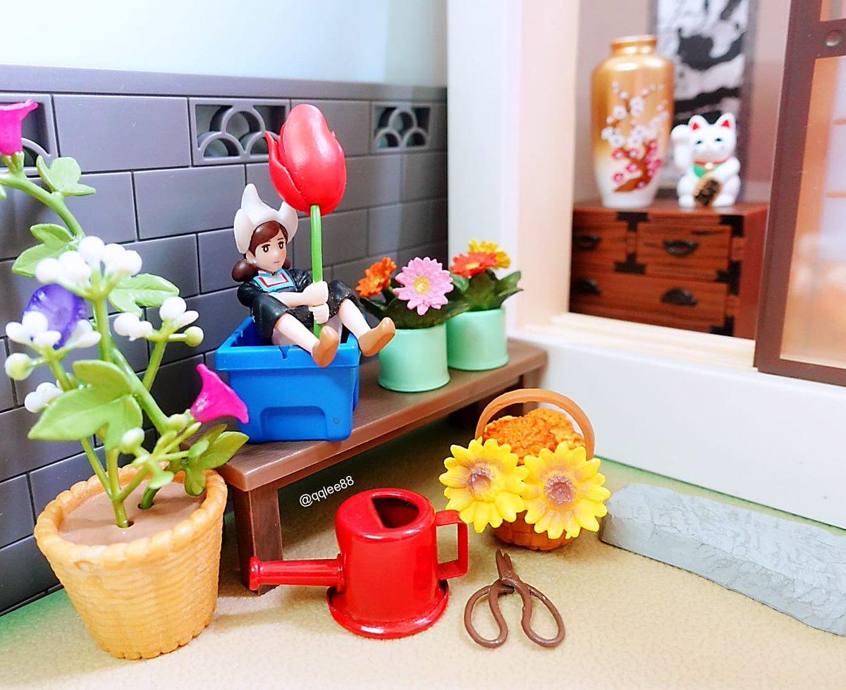 8月7日 #花の日 💐🌸🌹🌺🌻🌼🌷⚘ #花 #flowers  #今日は何の日  #フチ子 #fuchiko #fuchico #杯緣子 #ol人形  #リーメント #rement #ぷちサンプル #食玩  #扭蛋 #ガチャガチャ https://t.co/aCc2soYuQq