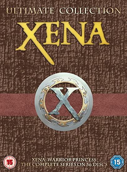 Xena Warrior Princess ultimate collection dvd boxset (36 discs) - £32.99 2