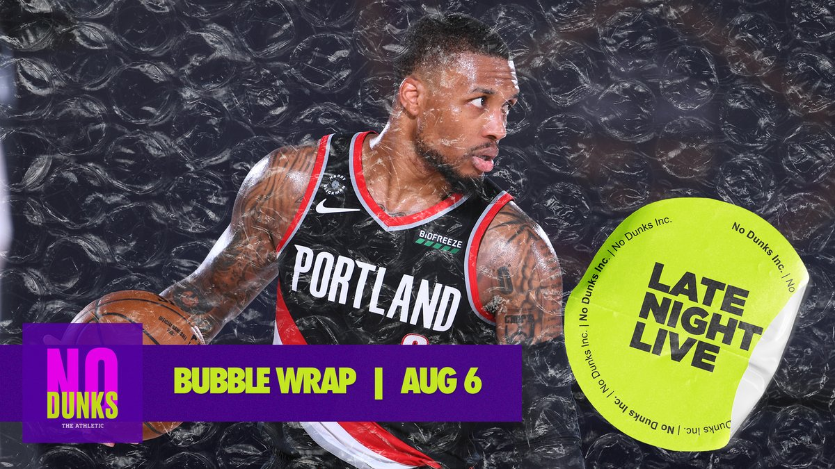 On Thu.'s #BubbleWrap, we play 'How Worried Are You?' about the Lakers drawing the Blazers, the Suns grabbing a MegaBowl spot, the Sixers after Simmons' injury + more!  🅰️: https://t.co/rCD5K9uiRp ✳️: https://t.co/MfBQ8d7tWN 🍎: https://t.co/Zo8uao89Mb 🎙: https://t.co/yoGh4vPDw4 https://t.co/53ZVD8nYaZ