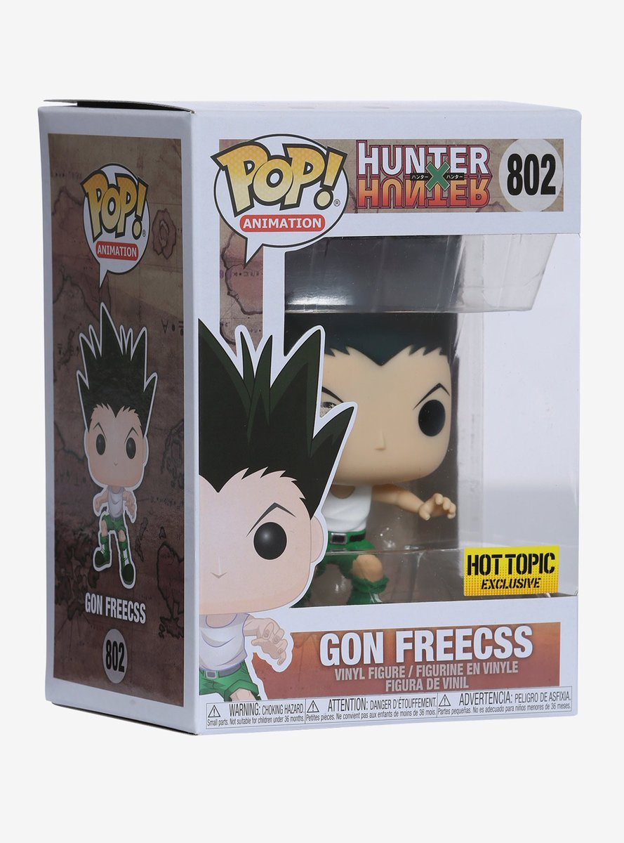 Hot Topic exclusive Gon Freecss is available online. .