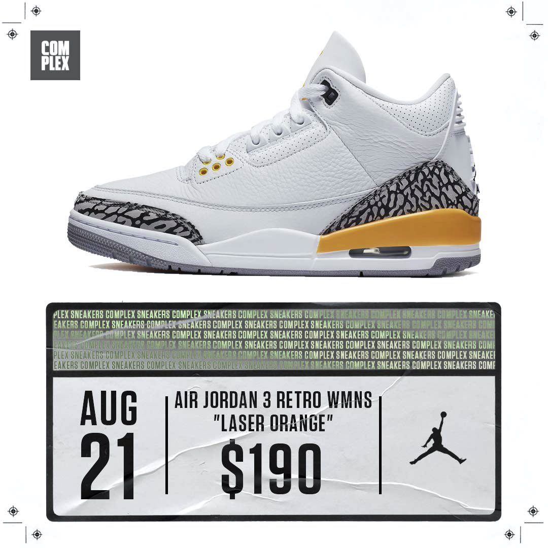 "Is the ""Laser Orange"" Air Jordan 3 a Drip, Flip or Skip? https://t.co/PawlpGdlWA"