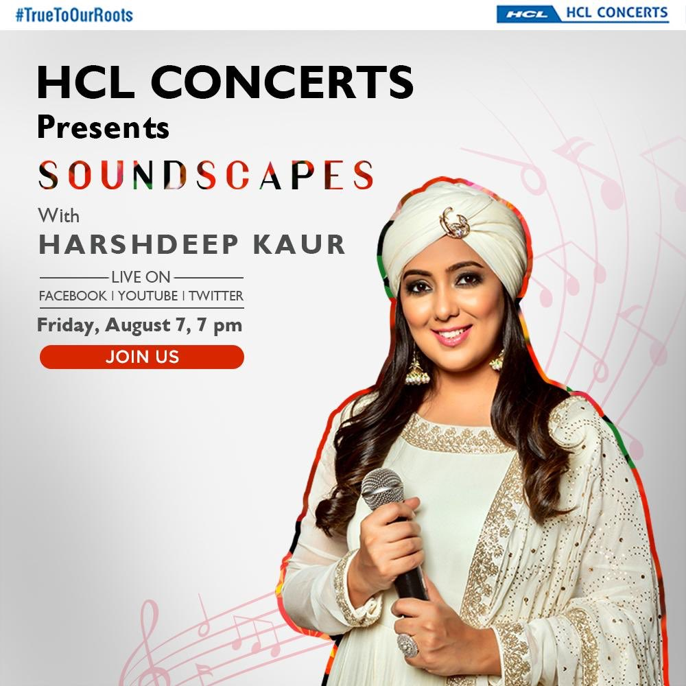 Join us at #Soundscapes for @HCLConcerts tonight at 7pm  I'll be singing some of your favourite songs with my band :)pic.twitter.com/QujK0m64ei