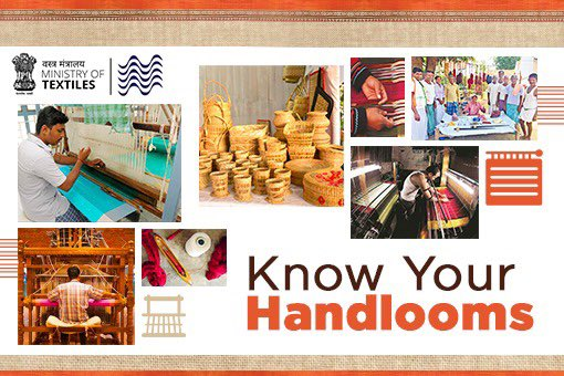 How well do you know our Handlooms? Take this @mygovindia quiz and find out. quiz.mygov.in/quiz/know-your… #Vocal4Handmade