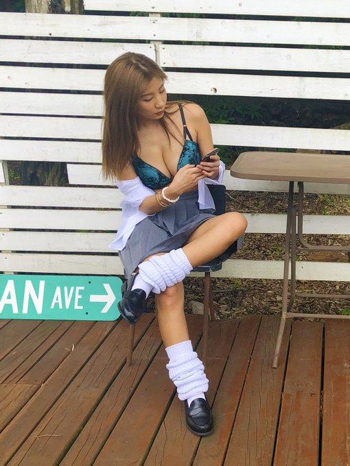 グラビアアイドル葉月あやのTwitter自撮りエロ画像11