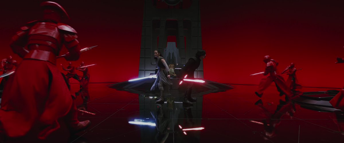 "4K Everything Star Wars on Twitter: ""4K shots of the Throne Room Fight  scene in Star Wars: Episode VIII – The Last Jedi Cinematographer: Steve  Yedlin Director: Rian Johnson… https://t.co/PFCRlfzNZH"""