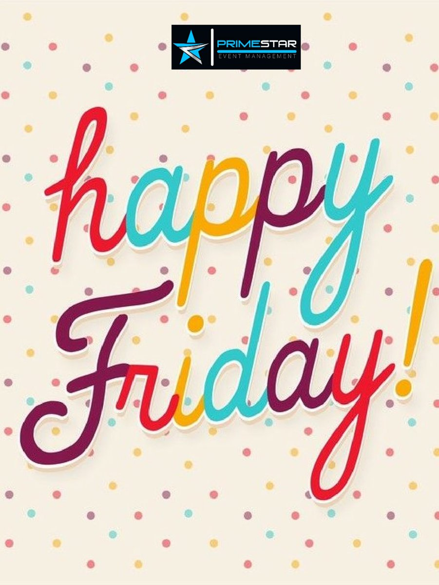 Friday is a day to finish your goals for the week.   It is a day to celebrate that which you set out to accomplish at the beginning of the week.   Well done .  #primestareventmanagement #primestar #eventmanagement #friday #morning #positive #staysafe #covid19 #augustpic.twitter.com/ZE7f1P8gbu