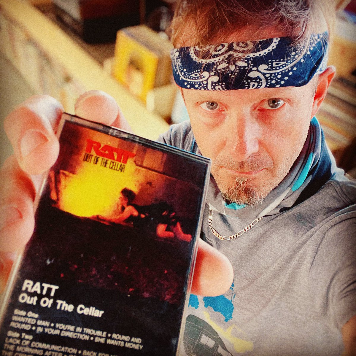 If you don't like Ratt, we can't be friends. @ratt #cassette #recordstore pic.twitter.com/h4jnh6QoCI