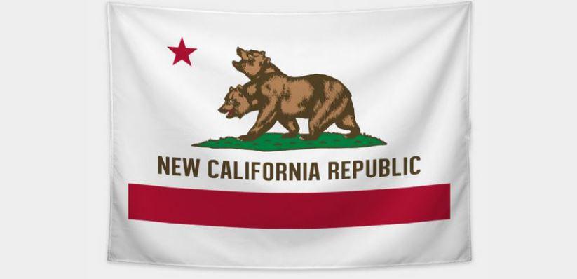 New California Tapestry $22 via TeePublic. 2
