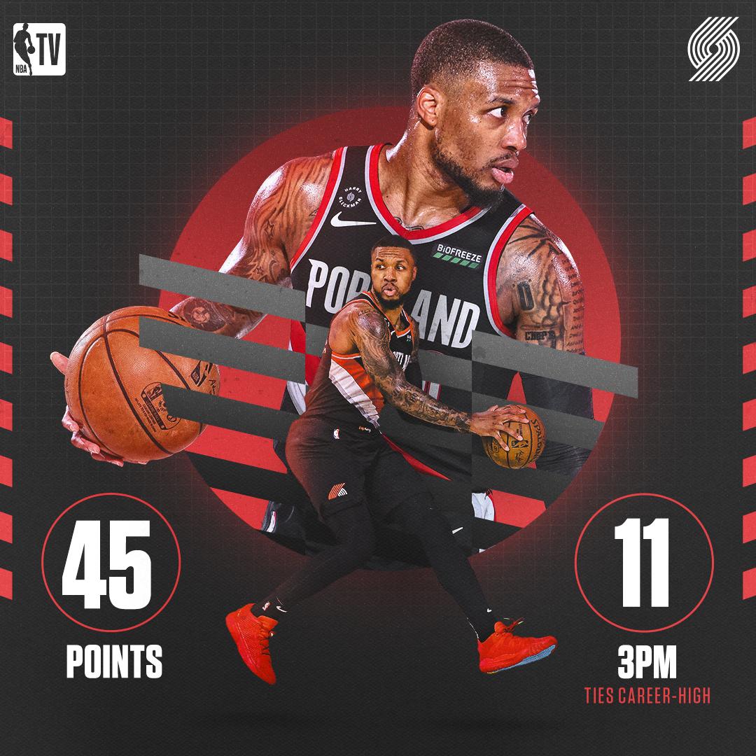 @NBATV's photo on dame