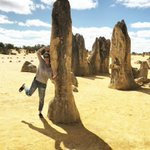 We are so lucky to be able to #WonderOutYonder. Exploring our beautiful Parks - The Pinnacles at Nambung National Park. @OurWAParks