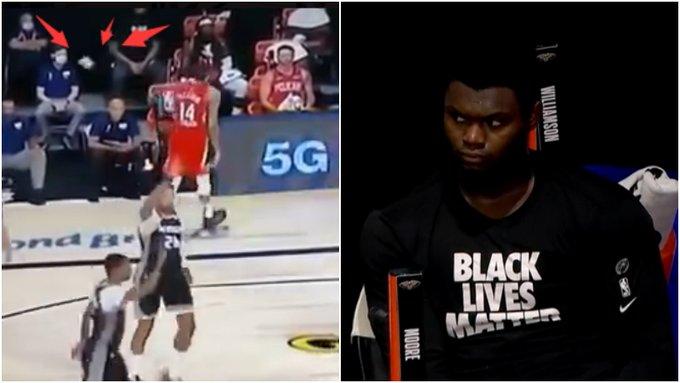 【影片】鵜鶘5人上雙仍然輸球,Zion面如死灰,Ingram朝教練席扔髮帶!