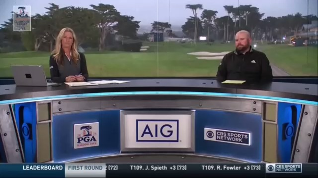 """""""A lot of people used to talk about Tiger Woods and the stare he used to have... I was on the range this morning when Brooks was getting ready to go to the first tee and I saw the stare.""""   @ColtKnost and @beemerpga break down why Koepka is always locked in for majors. https://t.co/vmglXDcaE2"""
