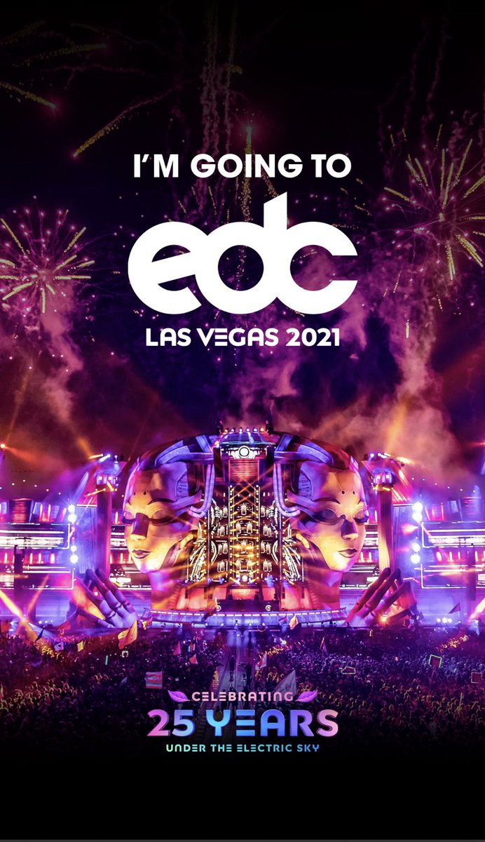 Haven't been to a festival in almost 8 years! Excited to be going back to @EDC_LasVegas it was the first festival I ever went to! pic.twitter.com/LL1Ww2pXjR