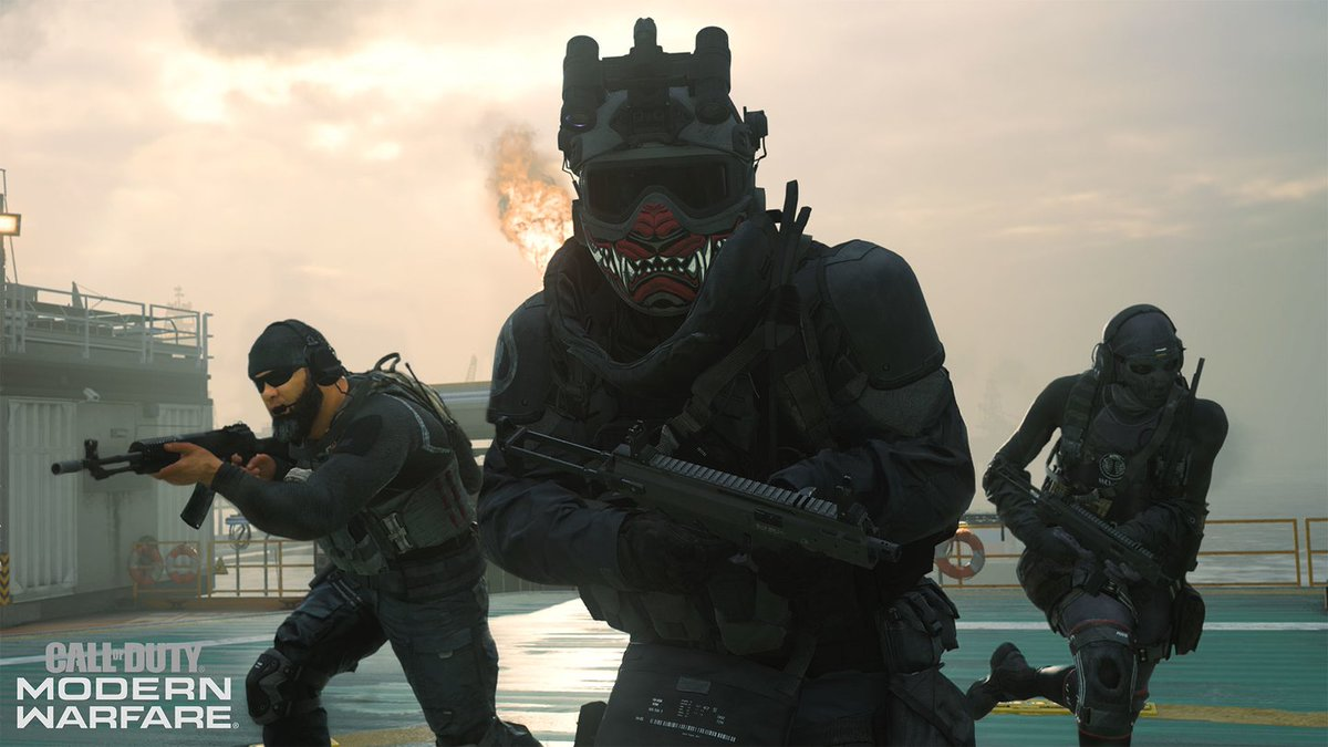 Knocked out 4 #OfficerChallenges and 17 level ups last night to open #Season5 of #ModernWarfare  Come on in tonight, I unlocked quite a few #Warzone challenges so we will be hitting them right away!  #LaCosaNostra  #WeAreLive   http://twitch.tv/JGottiKS79pic.twitter.com/ur3ill6cOd