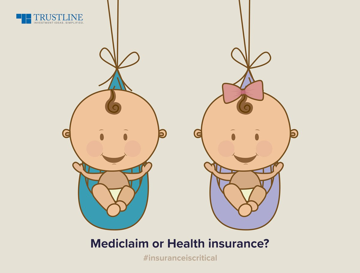 Mediclaim and Health insurance are different in many aspects. Foremost among them are pre and post hospitalisation services, associated expenses cover. Talk to the experts. #insuranceiscritical  https://t.co/obGvnaupwN https://t.co/uAh0U2iHgF