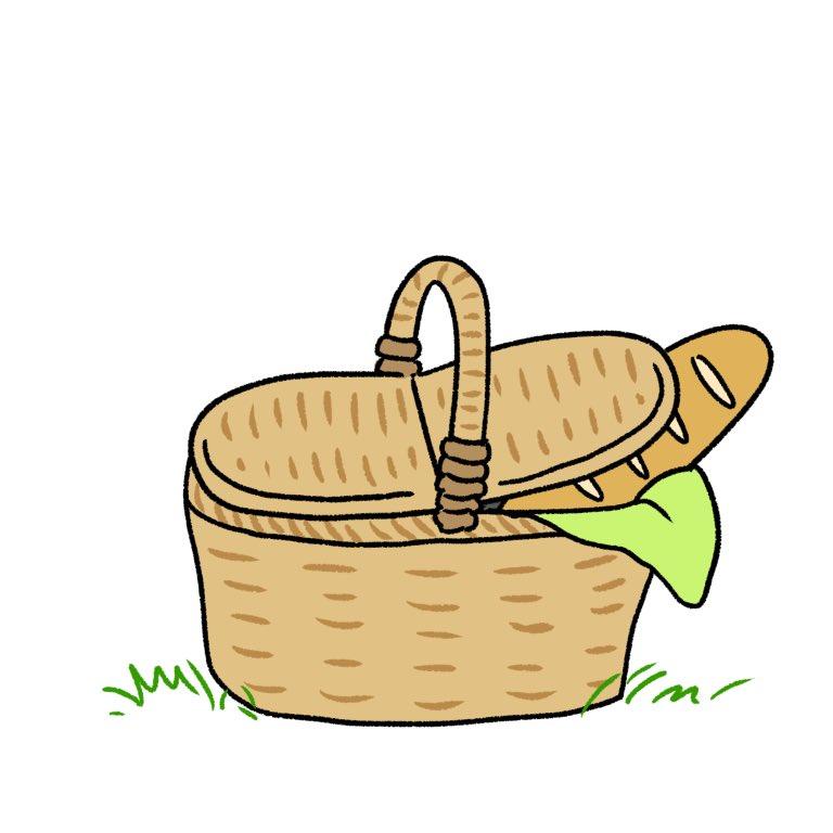 ピクニックに(勝手に)ついてきたキーウィ