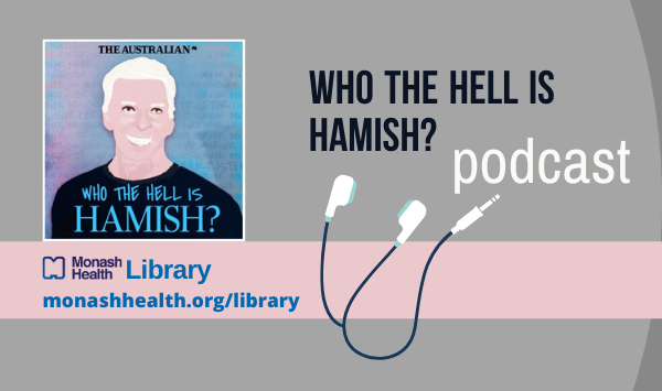 """Our Weekend Podcast is """"Who the Hell is Hamish?"""" Greg Bearup from The Australian Newspaper tells the devastating story of serial conman Hamish Watson - sentenced to jail in 2019 for duping victims into investing in bogus schemes. #MonashHealthLib #podcastpic.twitter.com/42H71sBAas"""