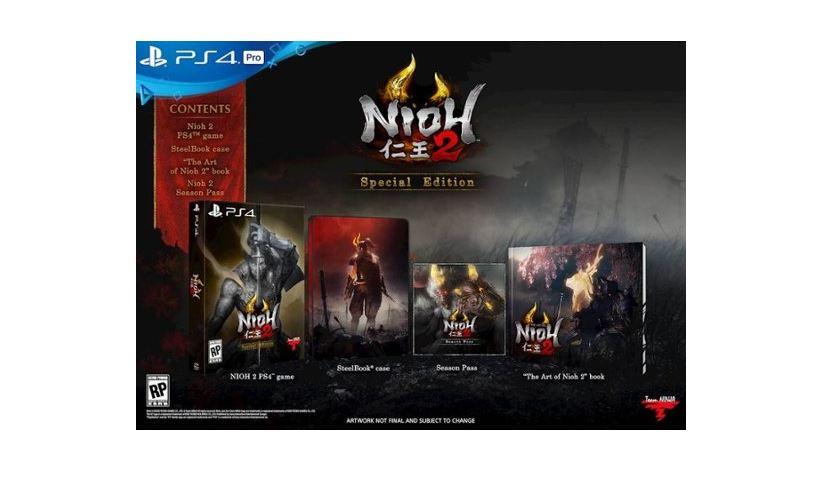 Nioh 2 Special Edition (PS4) $39.99 via Best Buy. 2