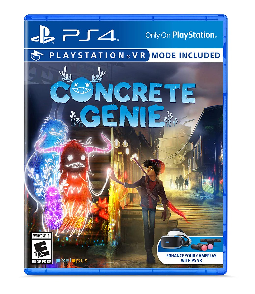 Concrete Genie (PS4) is $17.67 on Amazon Link0 $19.99 Best Buy Link1
