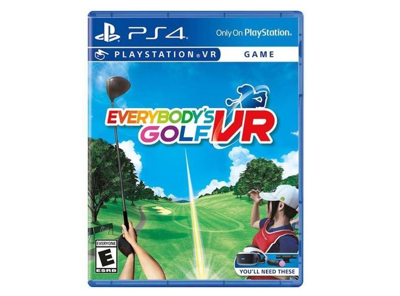 Everybody's Golf VR (PS VR) $19.99 via Best Buy. 2