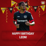 Image for the Tweet beginning: Alles Gute zum Geburtstag, @leonbailey