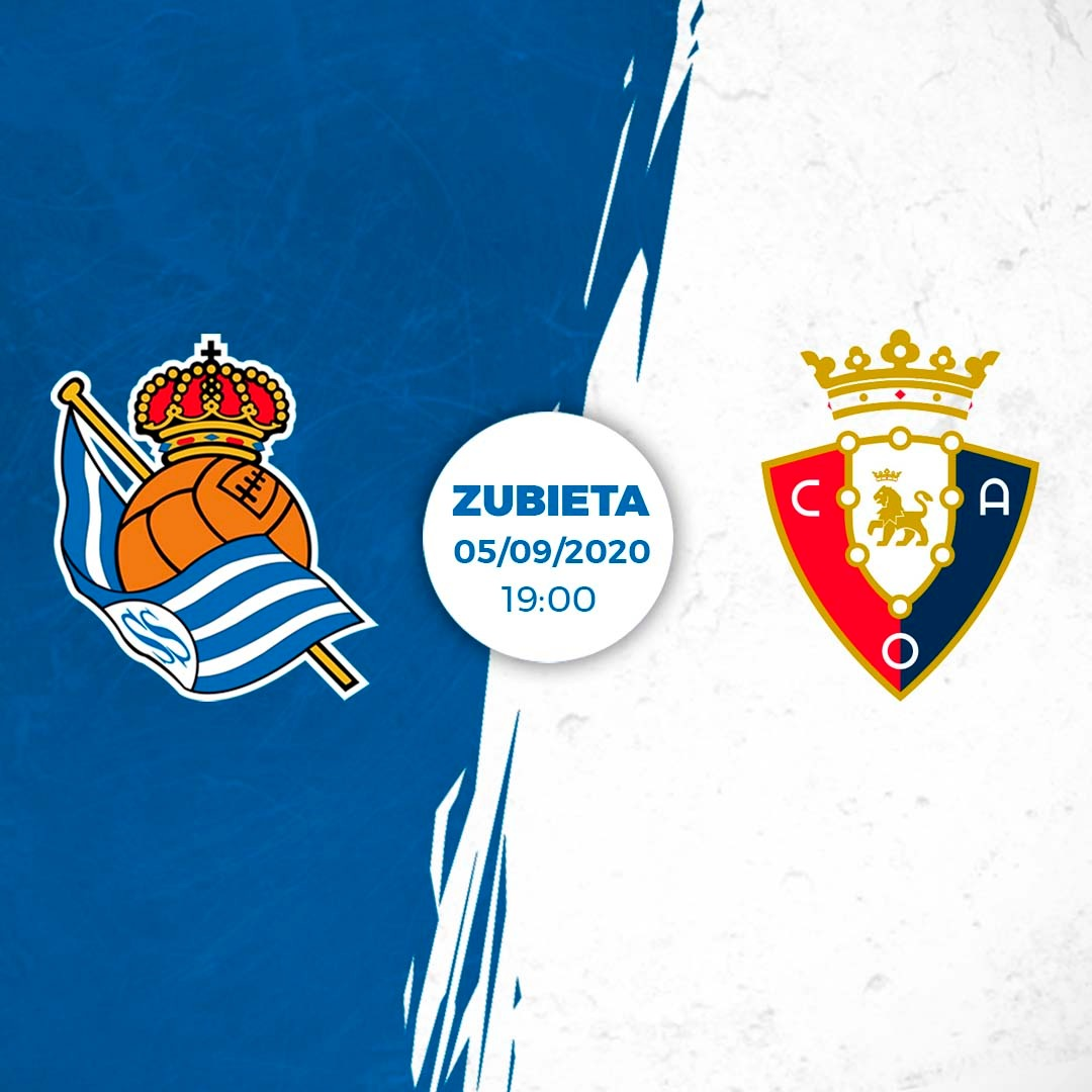 ℹ Real will play another friendly on September 5 at  19:00. The txuri urdin will face  @CAOsasuna at Zubieta. The match will be broadcast by Real Sociedad TV.  #AurreraReala https://t.co/ICYHOypsD4