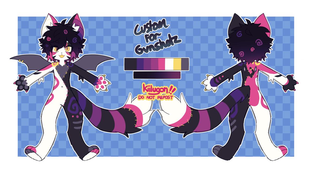 Custom Design Commission for, @gvnshotz pic.twitter.com/U6onKCKdOE
