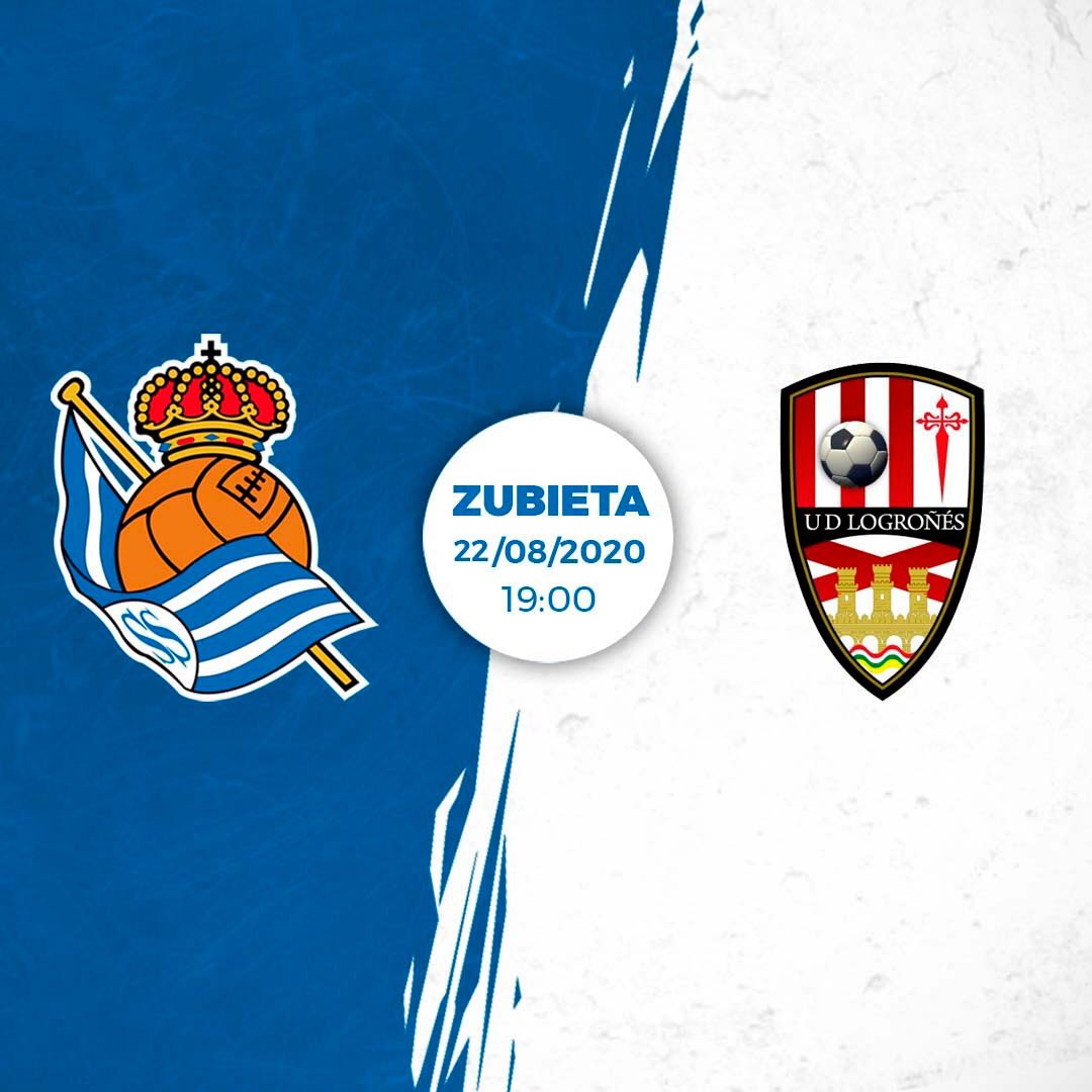 Real will begin their pre-season campaign against @UDLogrones at Zubieta! The encounter will be held on August 22 at 19:00. The game will be broadcast by Real Sociedad TV.  #AurreraReala https://t.co/LdWRBKiOYk