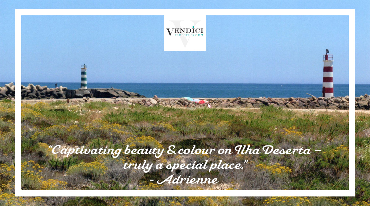 A stunning location for Adrienne's favourite place... It's not surprising that Ilha Deserta has made the top spot for a second time! Is it yours too? We'd love to know! #Vendici #cantskiphope #cleanandsafe #Algarve #QuintadoLago #ValedoLobo pic.twitter.com/dusI1sqMXG