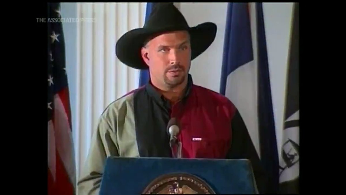 ON THIS DAY - In 1997, @GarthBrooks Day was announced in New York. #OnThisDay