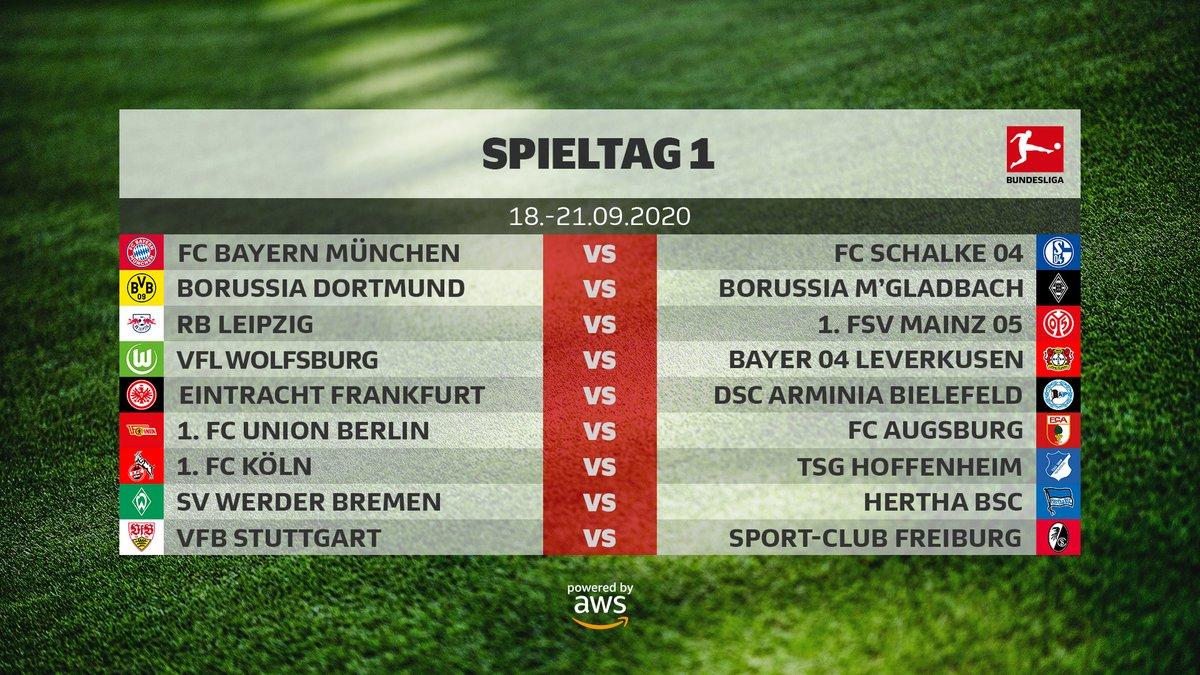 Bundesliga : le calendrier de la saison 2020 2021 est tombé