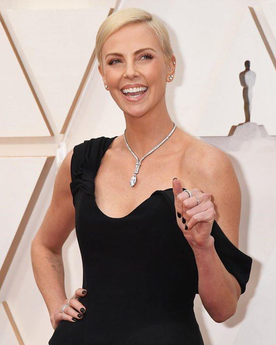 Happy birthday  to actor and producer Charlize Theron.