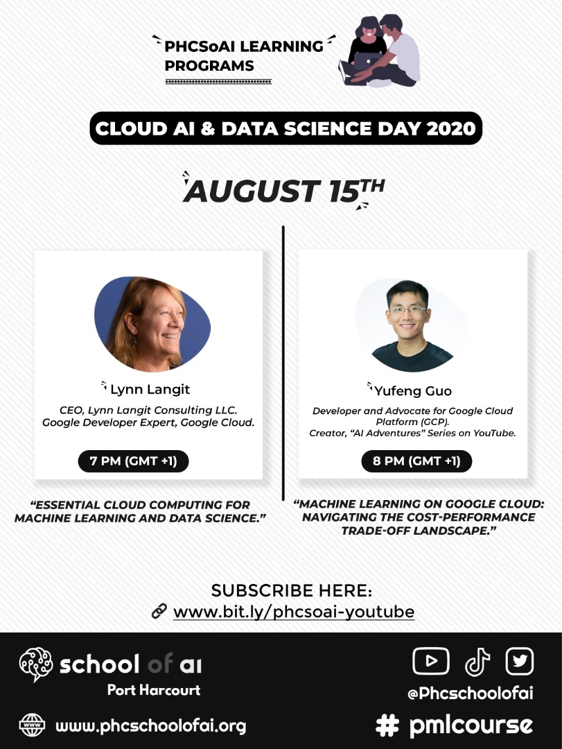 Cloud AI and Data Science Day with Lynn Langit and Yufeng Guo