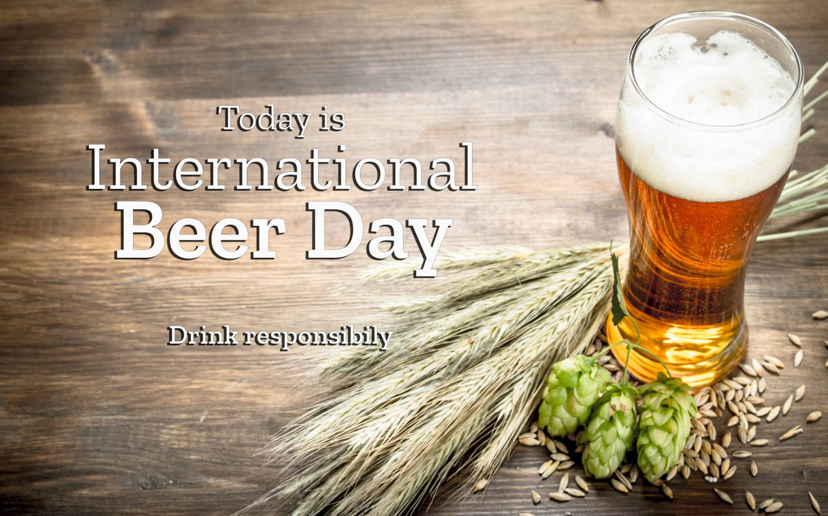 If you needed a reason to knock back a cold one today, it's #InternationalBeerDay! Did you know that without modern #cropprotection products, hops crop yields would be severely impacted? https://t.co/gU3FELvbRY