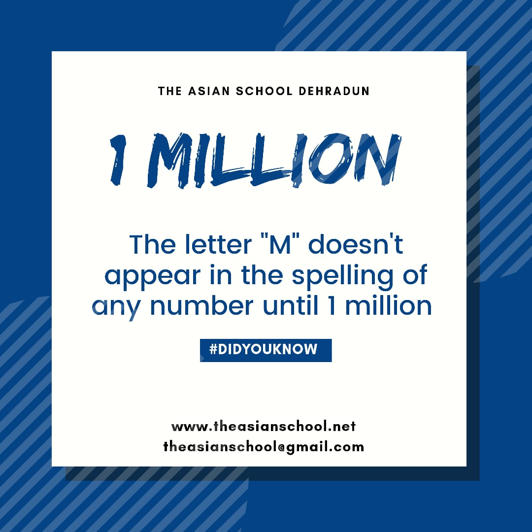 How many people know this? http://www.theasianschool.net #theasianschool #didyouknow #doyouknow #factss #realfacts #amazingfacts #truefacts #didyouknowthat #knowledge #students #awesomefacts #doyouknowfacts  #factgyan #informativepost #1million #dehradun #india #picofthedaypic.twitter.com/joVtvVkkaB