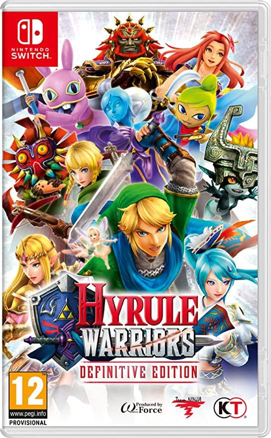 Hyrule warriors nintendo switch - £28.99