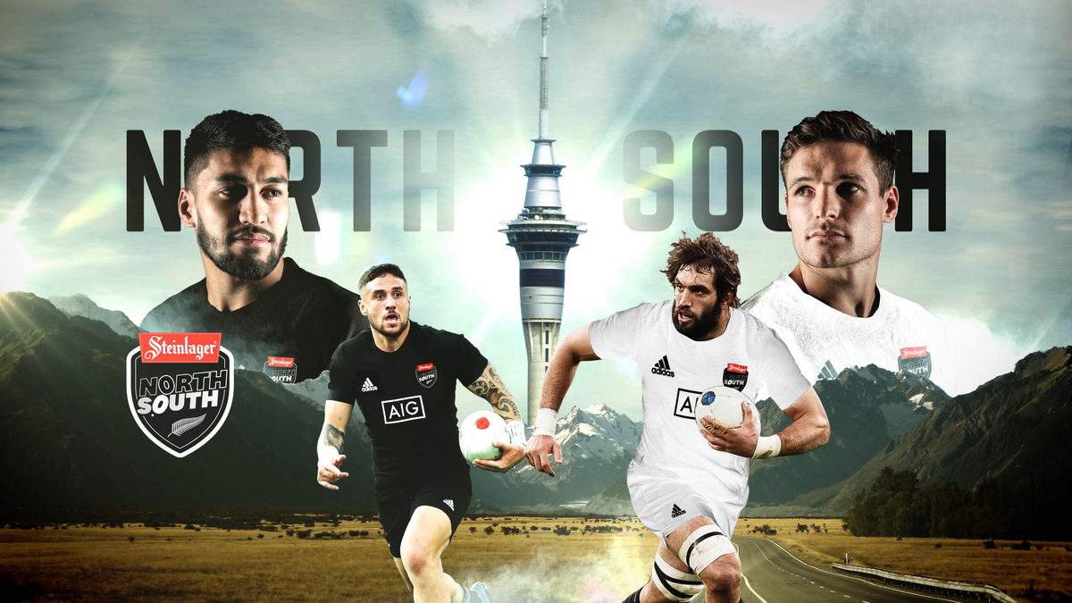 #WHOYOUWITH? ⬆️⬇️ 🇳🇿 🏉 North v South | Saturday 29 August - LIVE on Sky Sport 1!