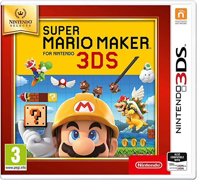Nintendo Selects - Super Mario Maker (Nintendo 3DS) - £10.99