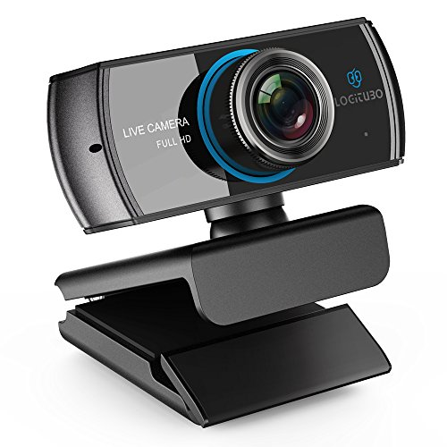 Not many left!! LOGITUBO Webcam 1080P Live Streaming Camera with Microp for only £42.49
