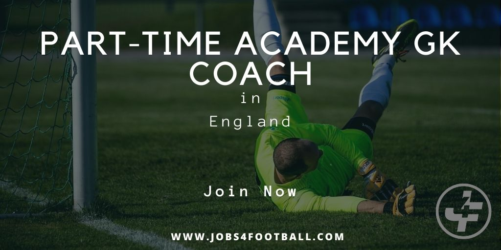 New JobPart-Time Academy GK Coach England On Request  #football #soccer #j4f #Recruiting #careerdevelopment #Jobs #job #coach #scout #scouting #headcoach #manager #community   Apply Now - https://jobs4football.com/job/part-time-academy-gk-coach/ …pic.twitter.com/Oc3engiwnm