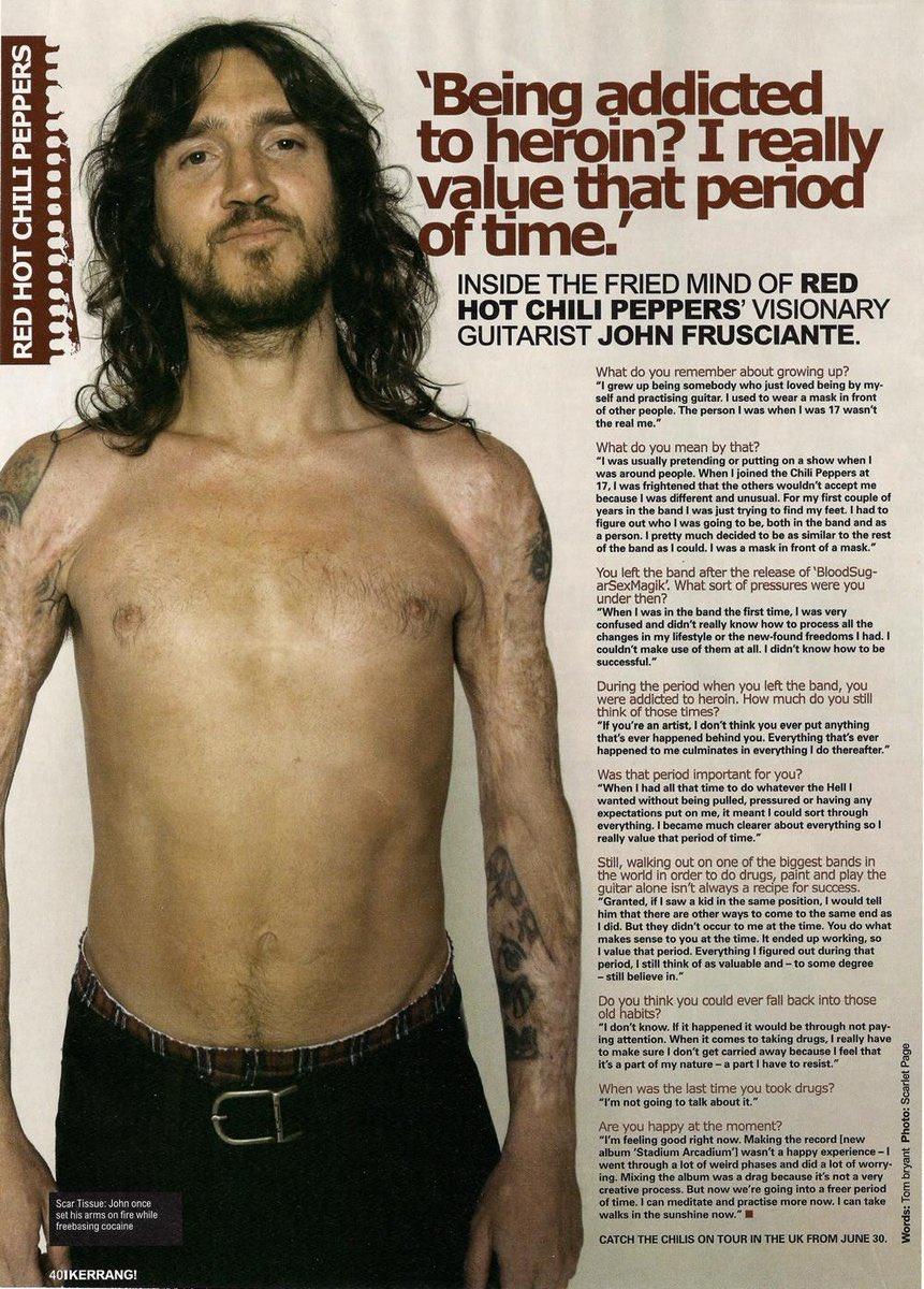 Frusciante arm john tattoo CELEBRITY TATTOOS