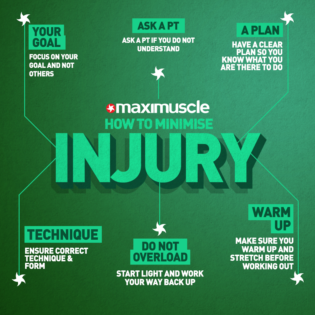 Back in the gym shifting tin after a long time away?? . Check out our tips on how to help minimise your chances of injury 💪🏼 . #GymTips #InjuryPrevention #BackToTheGym #Workout https://t.co/ht9YeuUrKq