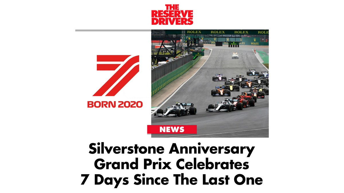 The teams will run special liveries (and identical components) that honour the very first #Silverstone Grand Prix this season.   #F1 #Formula1 #SkyF1 #AskCrofty #BritishGP #nicohulkenberg #F170 https://t.co/GECCf3sIXJ