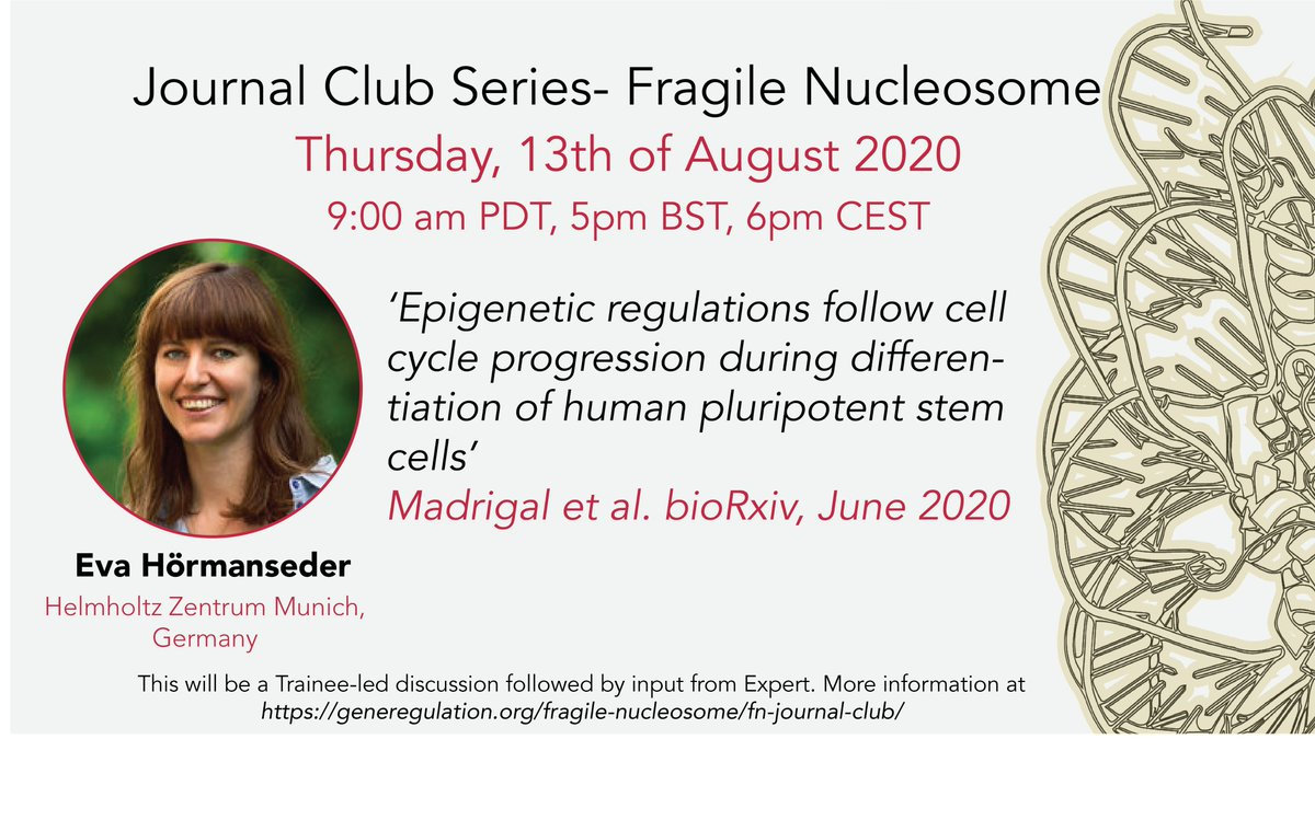 Please come join us for this journal club, we will discuss this fantastic preprint from the Vallier lab: https://t.co/6hO2EDvZOg