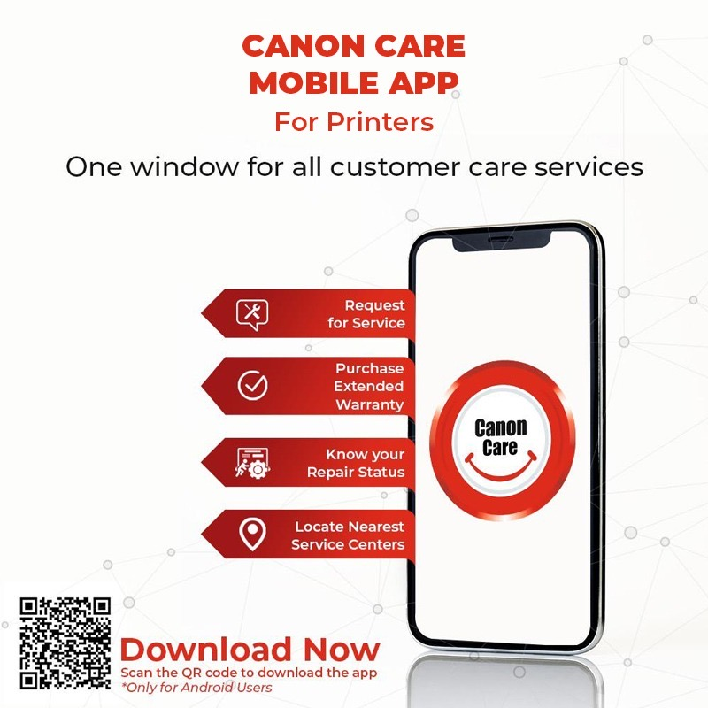 Manage your service requests, buy extended warranty, locate nearest service center and much more!! With Canon Care App get access to service and support, all in one place!  Download the App today - https://t.co/yUhOhoxBIr.  #CanonCareApp #CanonService #App #ServiceAndSupport https://t.co/BNc0tfgTke