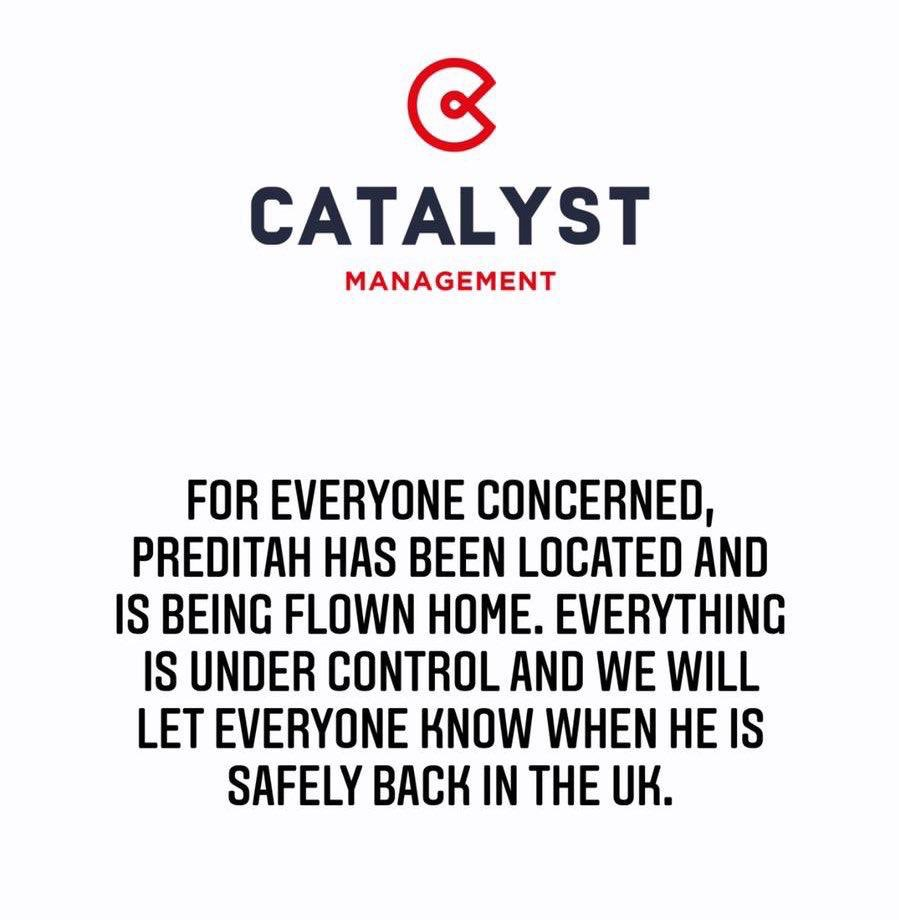 Preditah is recieving support 🙌 📝 @CTALYSTMGMT