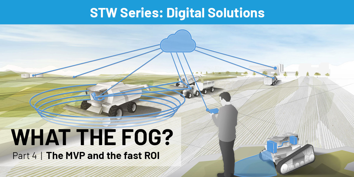 "In today's business world, #digital systems provide valuable services in almost all companies. In the fourth #STW series ""Digital Solutions"", #MVP and fast #ROI are explained in an easy-to-understand way. #Whatthefog #digitalsolutions #digitalization https://bit.ly/30Bn0Ms pic.twitter.com/Qs2LyERK89"