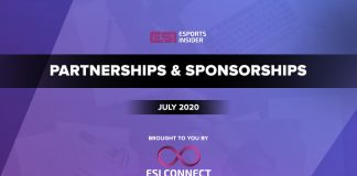 Here are the #partnership & #sponsorship that happened across #esports industry in July 2020 https://bit.ly/3fDofic  Source: Esports Insider  #news #business #revenue #gamingnews #esportsidustry #gamingindustry #onlinegamingpic.twitter.com/EvZhHRwS9M